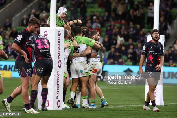 MATCH REPORT | Melbourne Storm 18-22 Canberra Raiders