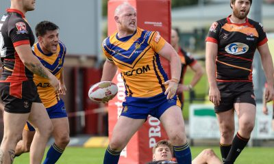 Whitehaven player coach Carl Forster